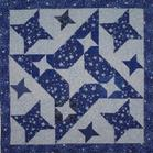 star feathers quilt
