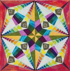 Gail Garber flying geese quilt