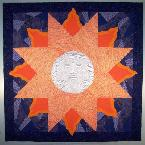 sun moon fire ice quilt