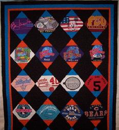 on point T-Shirt Quilt custom