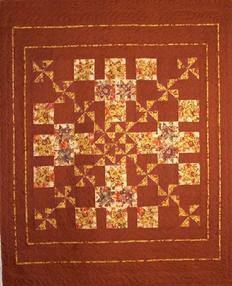 brown stars feathers flames swirls custom quilting